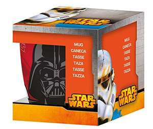 [Panier Plus] Mug en porcelaine NovaStyl Star Wars Dark Vador - 35 cl