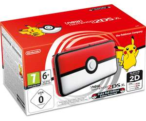 Console Nintendo New 2DS XL - Pokéball Edition