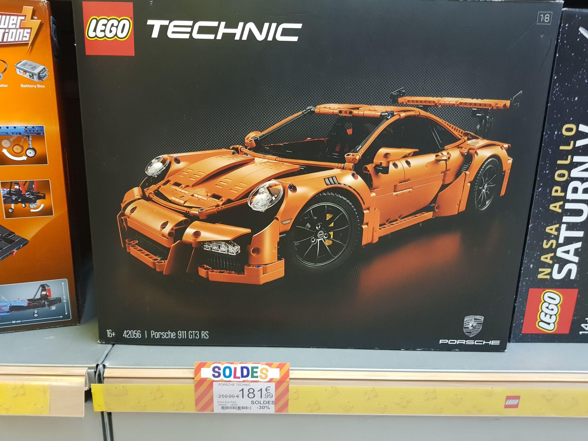 Jouet Lego Technic - Porsche 911 GT3 RS (42056) chez KingJouet Aubergenville (78)