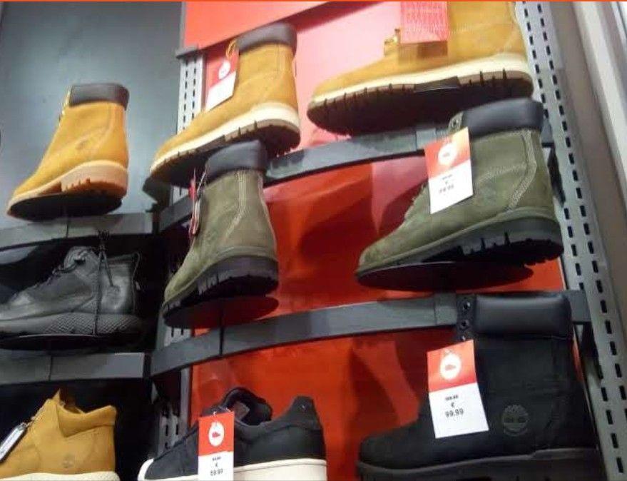 Chaussures Timberland 6 inch Premium beige/vert/noir homme - Sarcelles (95)