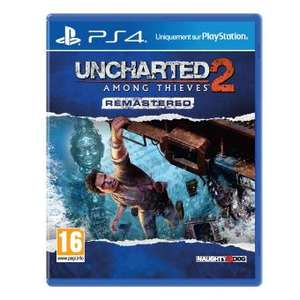 Uncharted 2 Among Thieves Edition Remastérisée sur PS4