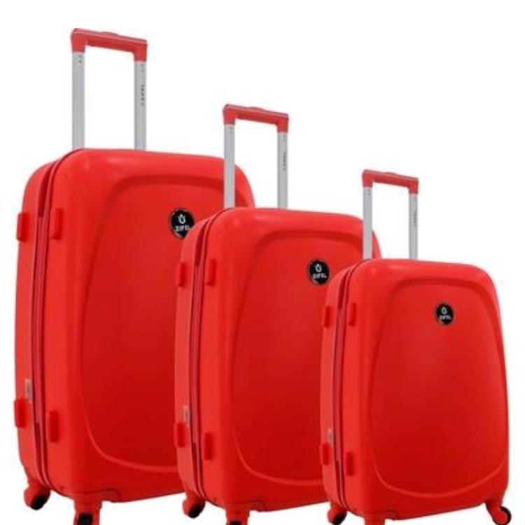 Set de 3 valises rigide Zifel - Taille : S, M, L