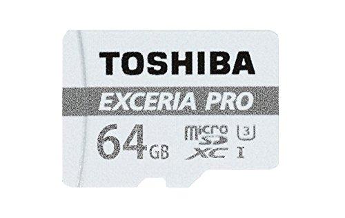 Carte micro SDXC UHS-IToshiba Exceria Pro M401 - 64 Go