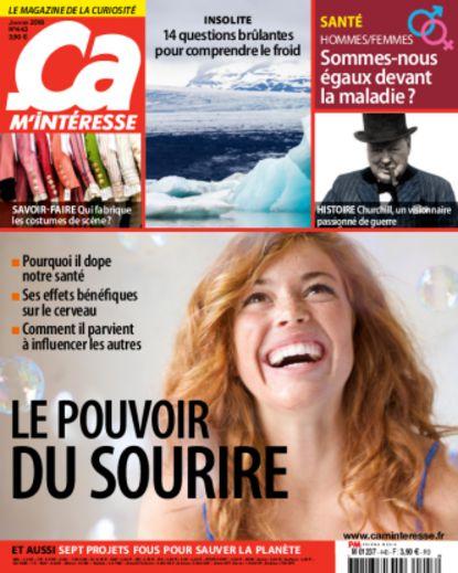 Sélection de magazines en promotion - Ex : abonnement de 18 mois à Ça M'intéresse