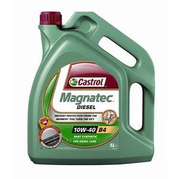 Bidon d'huile moteur Castrol Magnactec - Diesel, 10W40, 5 L