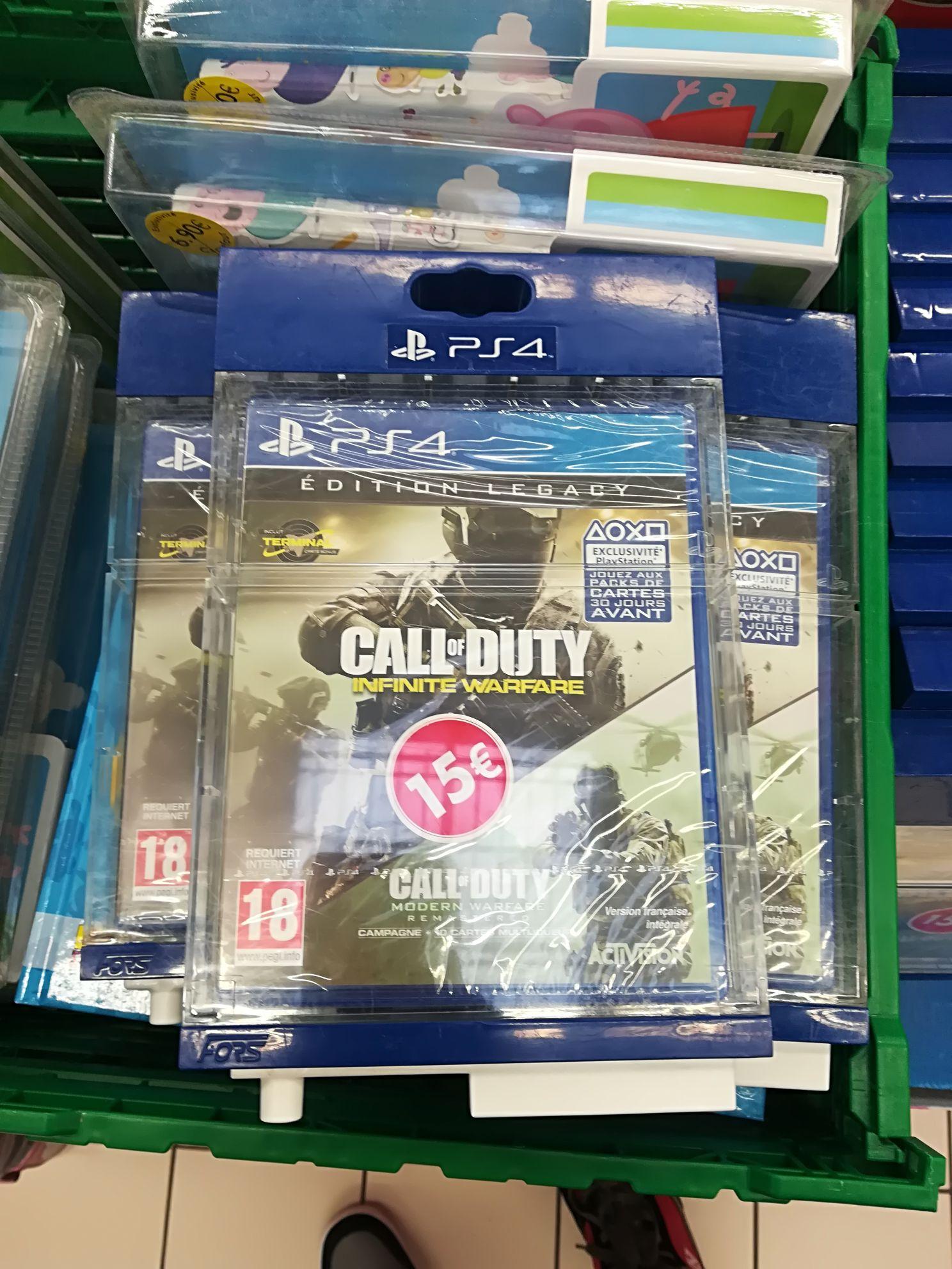 Call of Duty: Infinite Warfare - Édition Legacy sur PS4 au Carrefour Saint-André-les-Vergers (10)