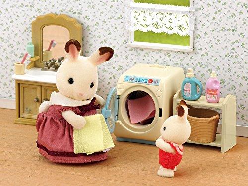 Accessoires pour poupée Sylvanian Families Machine à laver et kit de repassage