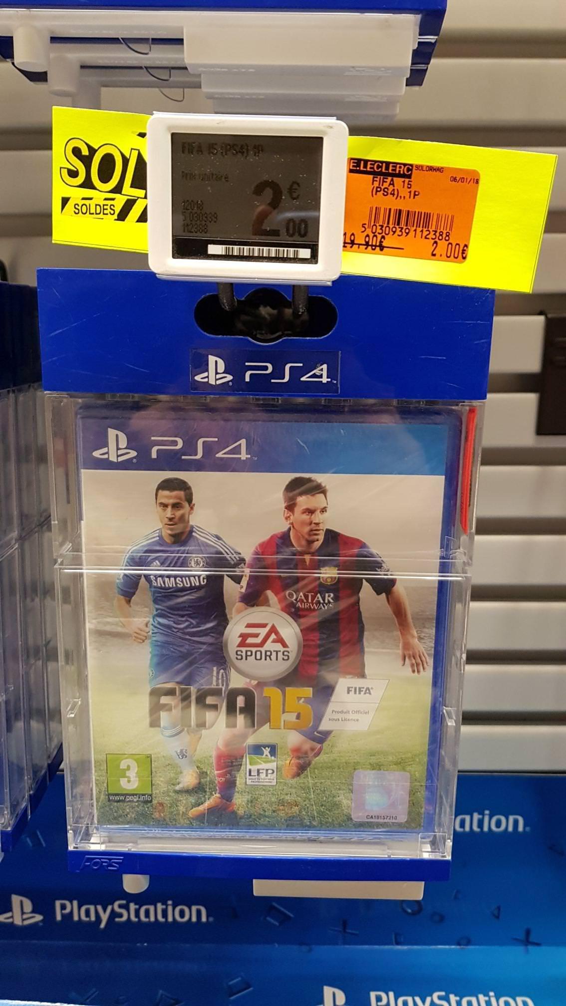 FIFA 15 sur PS4 au E.Leclerc Thionville (57)