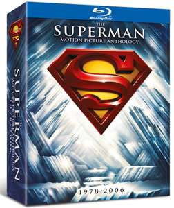 Blu-ray The Superman Motion Picture Anthology 1978-2006