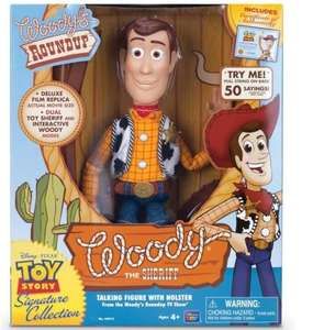 Figurine Parlante Toy Story Woody Signature Collection