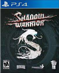 Jeu Shadow Warrior sur PS4