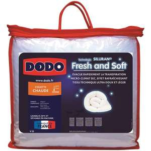 Couette chaude microfibre Dodo Fresh and Soft - 240 x 220cm