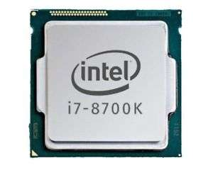 Processeur Intel Core i7-8700K - 3.7GHz