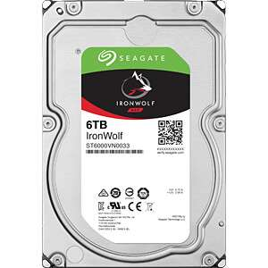 "Disque dur interne 3.5"" NAS Seagate IronWolf ST6000VN0033 - 6 To"
