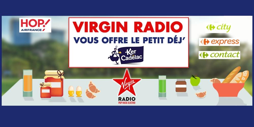 Sac Petit-déjeuner offert avec Ker Cadélac et Virgin Radio