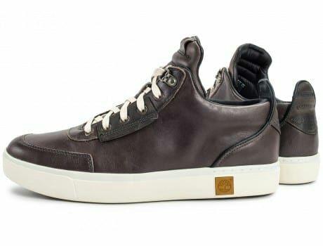 Chaussures Timberland Amherst High Top Chukka Marron Foncé - Tailles au choix