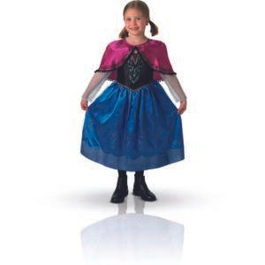 Déguisement Luxe Rubies - Anna La Reine Des Neiges (Taille S)