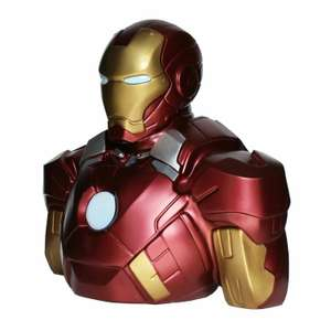 Tirelire Marvel Bust Bank / Iron Man smc BUSMNG046 - 22cm