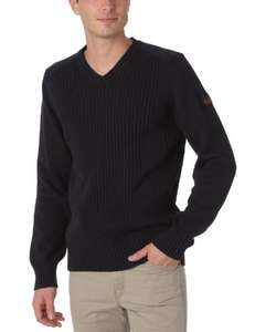 Pull Schott Milford 5 Navy pour Hommes - Taille S