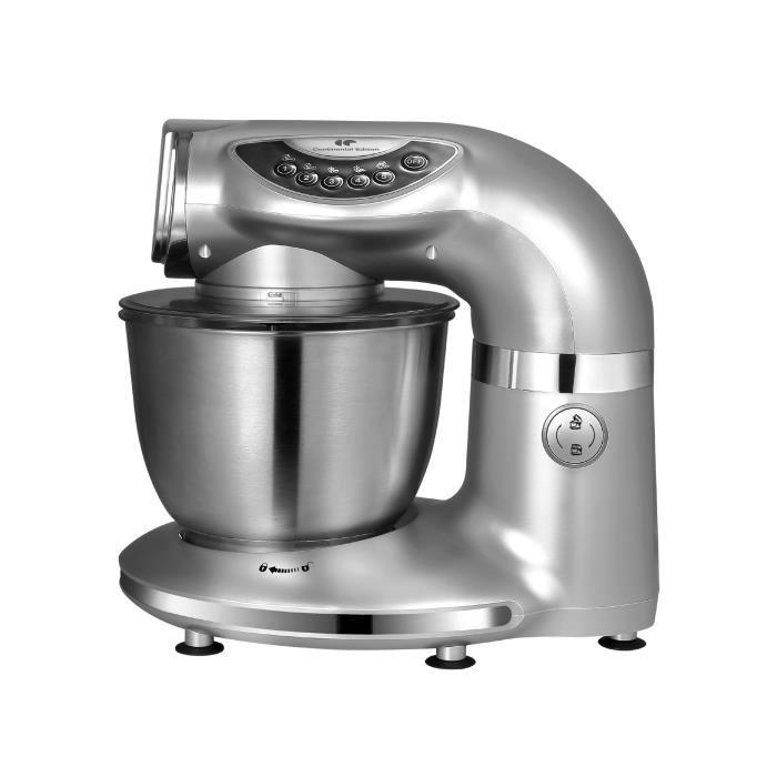 Robot Pâtissier Continental Edison RPT1000S  - Silver