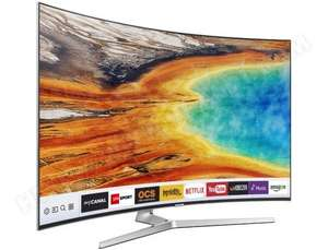 "TV LED 65"" Incurvée Samsung UE65MU9005 - UHD 4K, HDR, Smart TV + Barre de son Samsung HWM4501 (Via ODR 600€)"