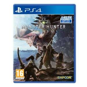 Monster Hunter: World sur PS4 ou Xbox One