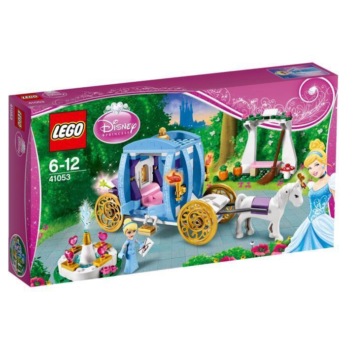 Lego Disney Princess 41053 Carrosse Cendrillon + 1 place de cinéma offerte