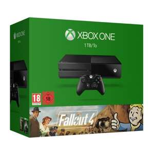 Console Microsoft Xbox One 1 To Noire + Fallout 4 + Fallout 3