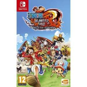One Piece Unlimited World Red Edition Deluxe sur Nintendo Switch (32 euros nouveau clients)