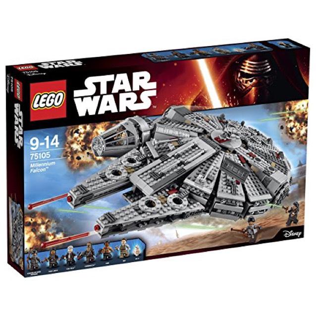 LEGO 75105 Star Wars : Millennium Falcon - Nancy Houdemont (54)