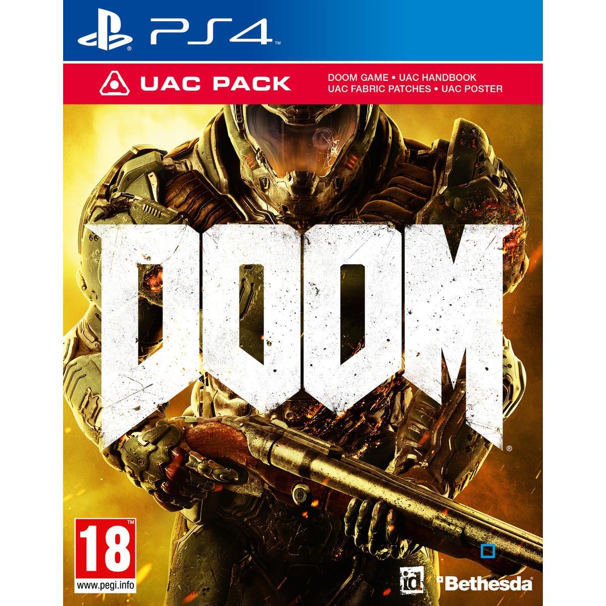 Doom - UAC Edition sur PS4