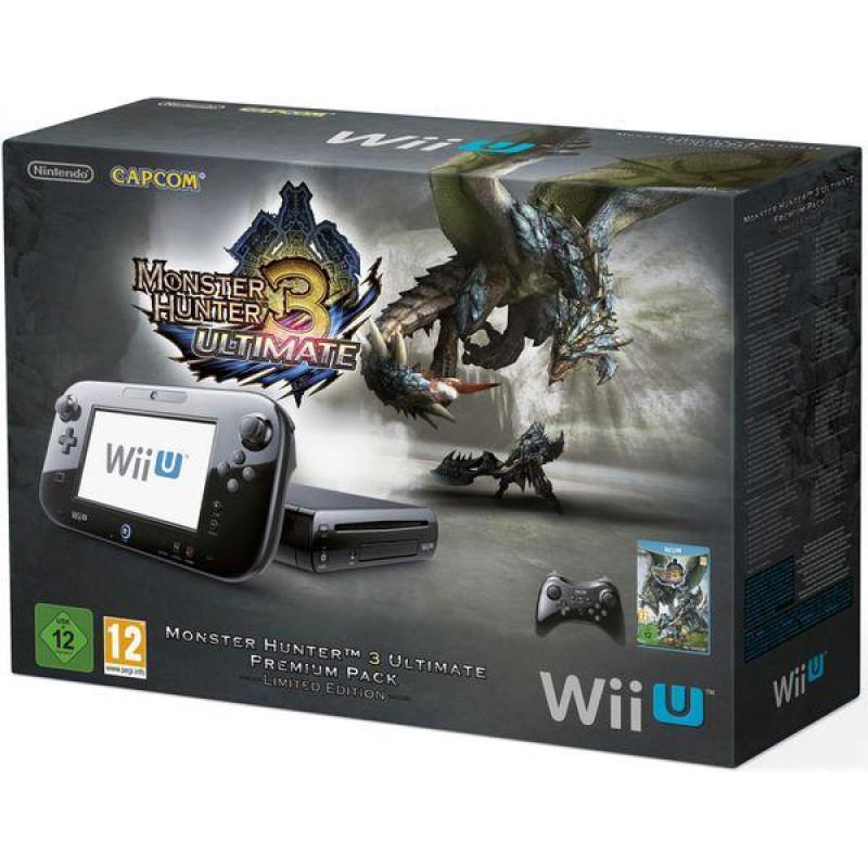 Sélection de Consoles Nintendo Wii U - Ex : Pack Monster Hunter - 32 Go (Stock sur l'application)