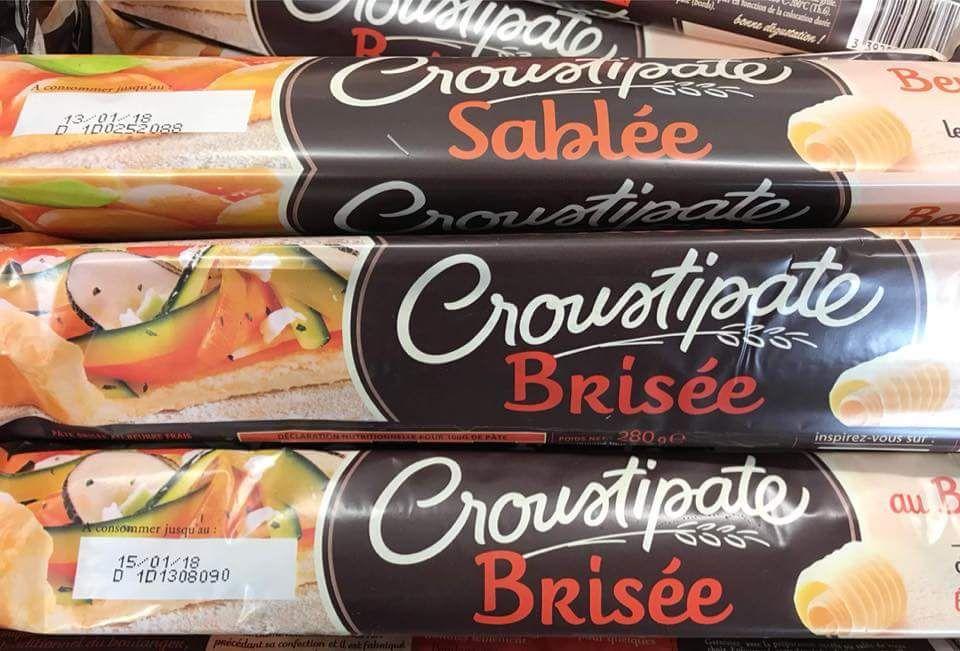 10 pâtes brisées Croustipate - Aux 4 Lots Sens (89)