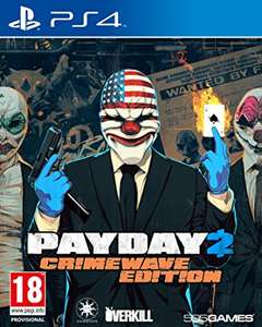 Payday 2 : Crime Wave Edition sur PS4