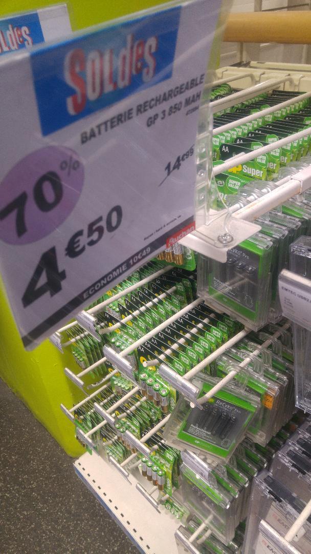 4 Batterie AAA (LR03) GP ReCyko+ Pro 800mAh - La Défense (92)