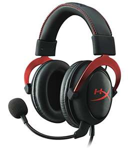 Micro-casque gaming Kingston HyperX Cloud II - Rouge