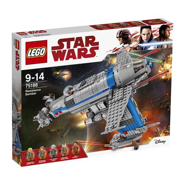 Jeu de construction Lego 75188 Star Wars Resistance Bomber