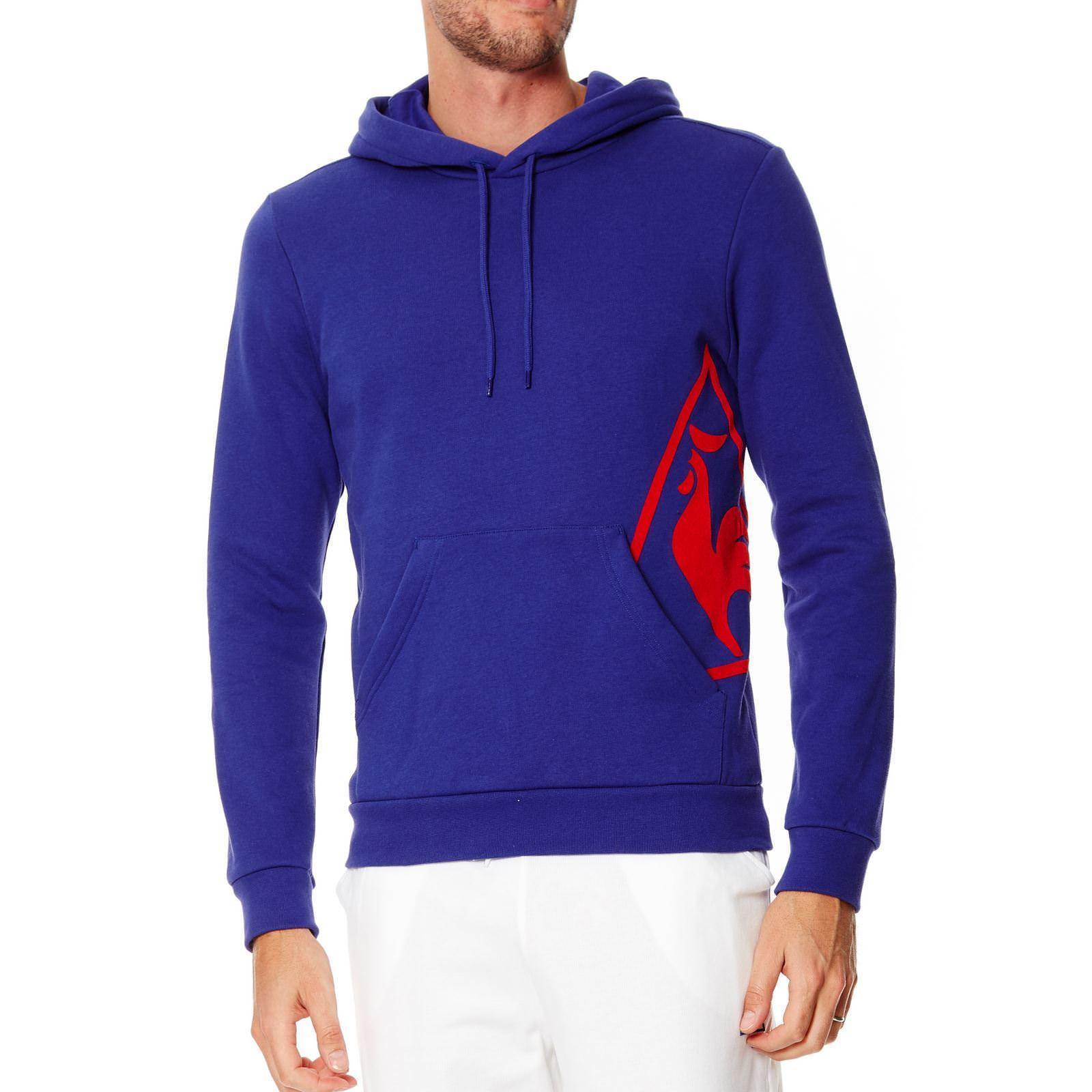 Sweat-shirt Le coq sportif - Bleu/Rouge (via 0.9€ fidélité Leclerc)