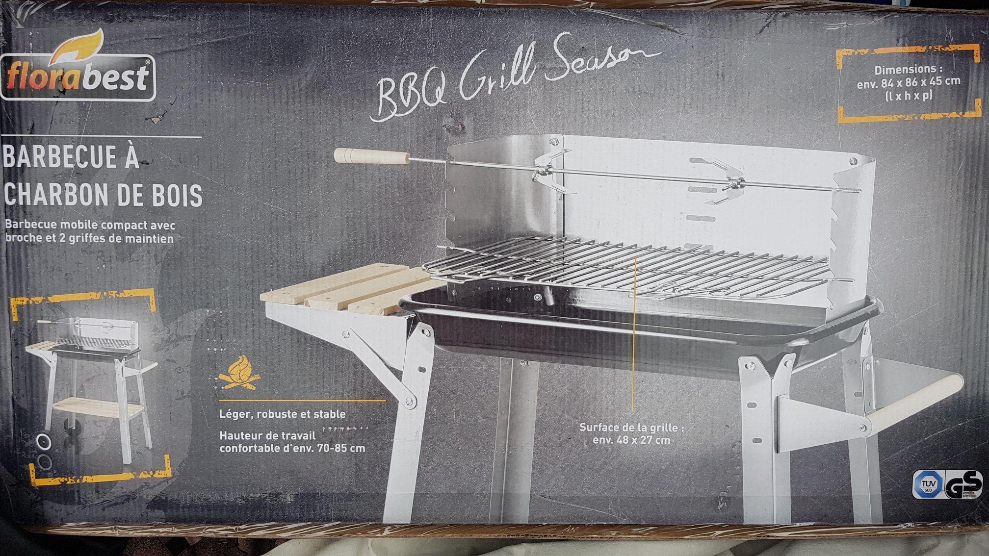 Barbecue à charbon de bois - Lidl Castanet (31)