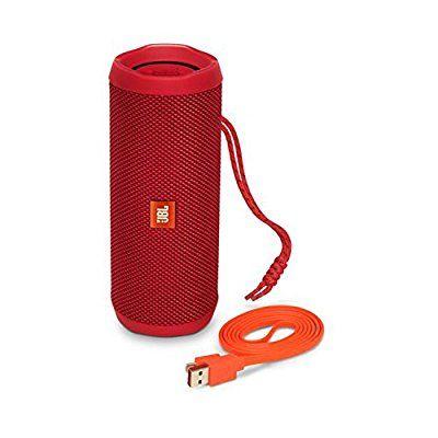 Enceinte portable JBL Flip 4 - Bluetooth, étanche, Rouge