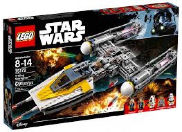 Jeu de construction Lego Star Wars 75172 - Y-Wing Starfighter