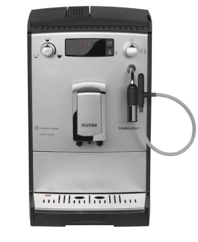 Machine à Café Full Automatique Nivona Caferomatica 656 Argent