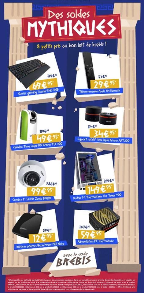 Sélection de produits en promotion - Ex : Batterie externe Silicon