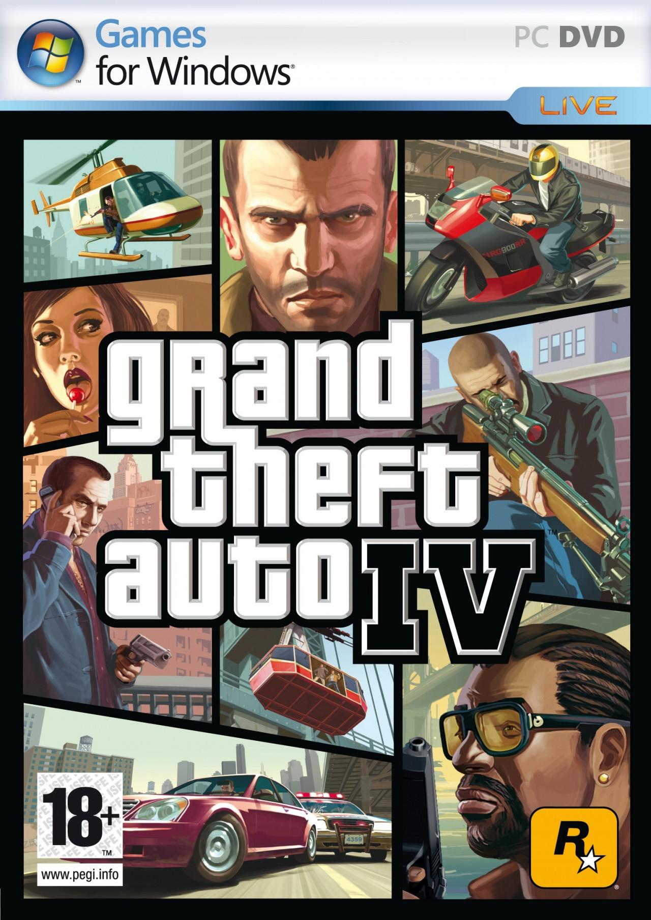 Promotion sur les jeux Rockstar sur PC (Dématérialisé) - Ex:  Max Payne à 4.99€ et GTA 4