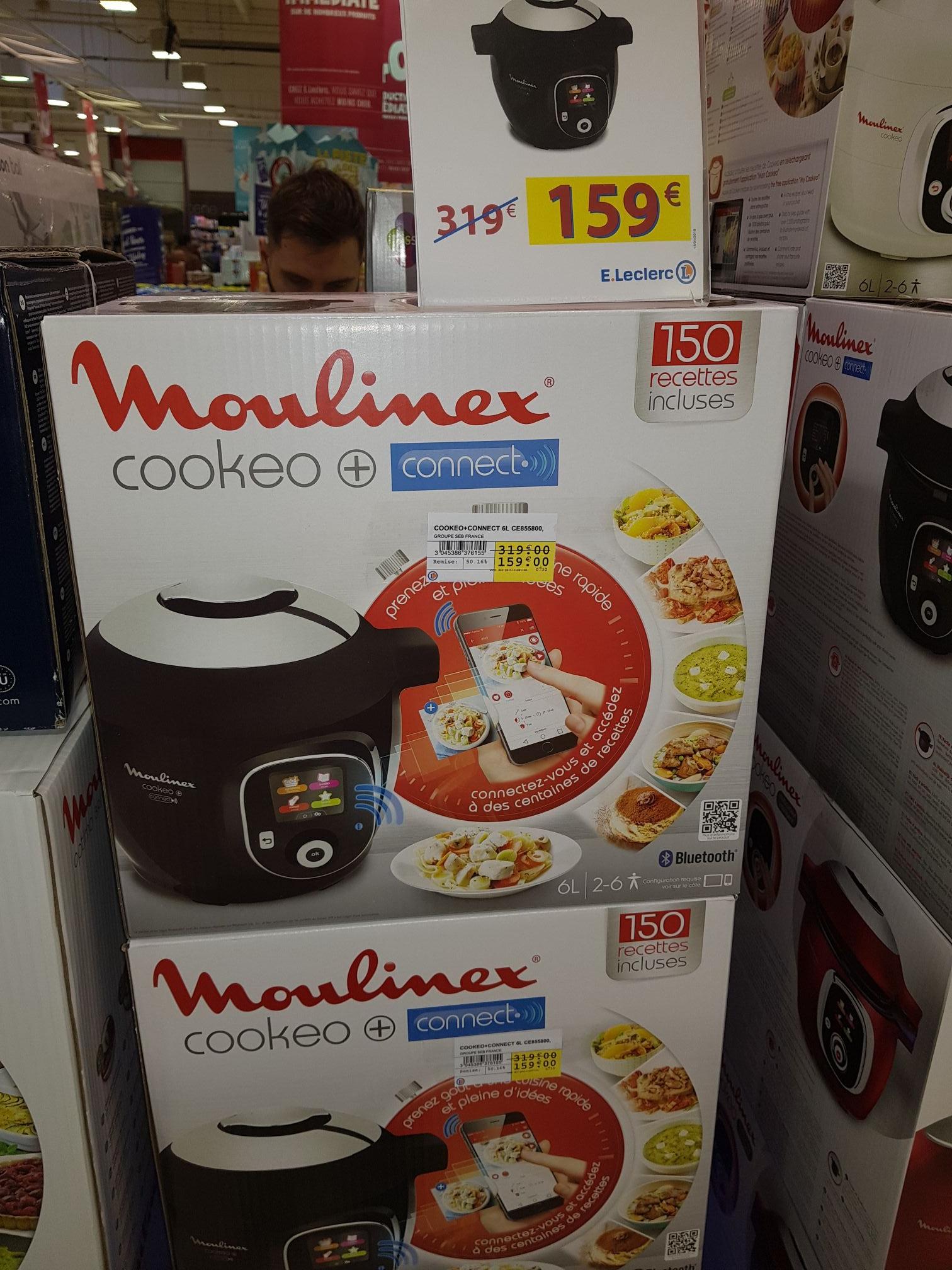 Multi-cuiseur connecté Moulinex Cookeo + Connect CE7855800 - Gonesse (95)