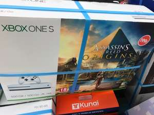Pack console Xbox One S 500 Go + Assassin's Creed Origins ou Forza - Chambourcy (78)