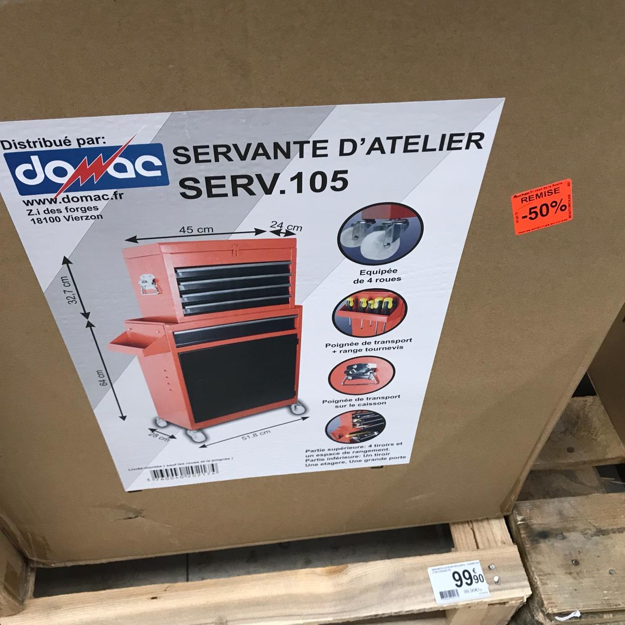 Servante d'atelier Damac - Saint-Jean-de-la-Ruelle (45)