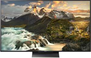 """TV 65"""" Sony KD-65ZD9, UHD, HDR, 120Hz, Full Led Local Dimming 646 Zones, Android TV, 3D, Processeur X1 Extreme"""