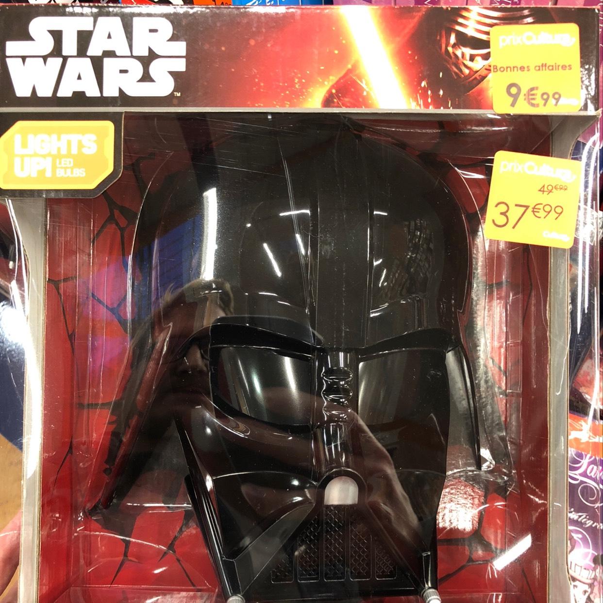Lampe murale Darth Vader - Cultura GIVORS (69)