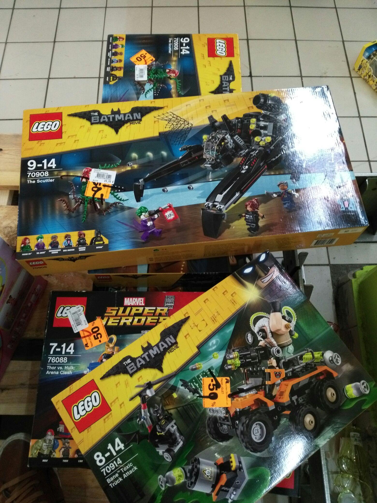 50% de réduction sur les Lego - Ex: Lego The Batman La Batbooster (Bordeaux lac - 33)